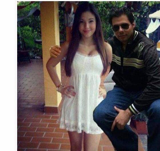 Chico con chica guapa photoshop