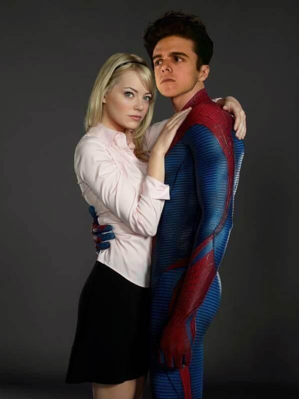 Spiderman photoshop cara