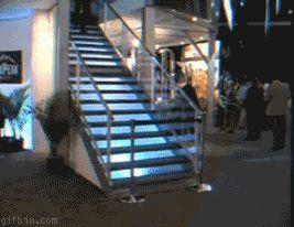 Caída por las escaleras