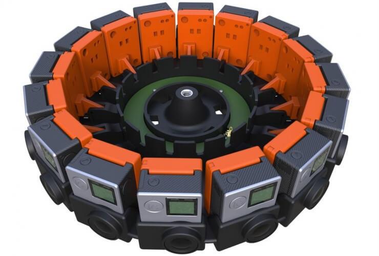 Google GoPro cámara de realidad aumentada