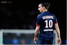 Mejor jugador de fútbol Zlatan Ibrahimovic