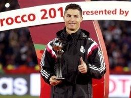 Mejor jugador de fútbol Cristiano Ronaldo