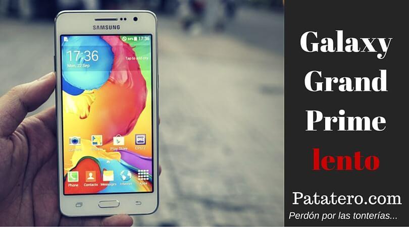Samsung GalaxyGrand Prime Lento