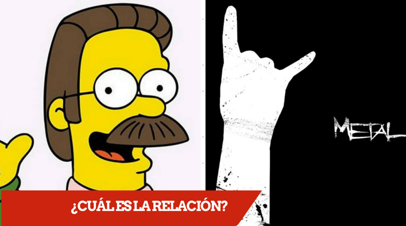 Ned Flanders y la Música Metal